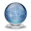 64x64px size png icon of Network globe offline