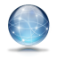 64x64px size png icon of Network globe