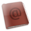 64x64px size png icon of Applications Adressbook