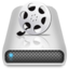 64x64px size png icon of Drives Movies