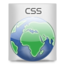 64x64px size png icon of File Types CSS