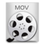 64x64px size png icon of File Types MOV