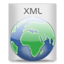 64x64px size png icon of File Types XML