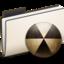 64x64px size png icon of yFolderBurn