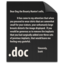 64x64px size png icon of File DOC