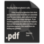 64x64px size png icon of File PDF