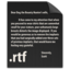 64x64px size png icon of File RTF
