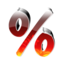 64x64px size png icon of 0 Percent