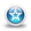 64x64px size png icon of Glossy 3d blue orbs2 036