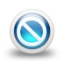 64x64px size png icon of Glossy 3d blue orbs2 079