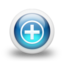 64x64px size png icon of Glossy 3d blue orbs2 087