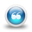 64x64px size png icon of Glossy 3d blue orbs2 091