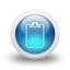 64x64px size png icon of Glossy 3d blue orbs2 094