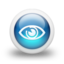 64x64px size png icon of Glossy 3d blue orbs2 096