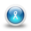 64x64px size png icon of Glossy 3d blue ribbon