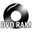 64x64px size png icon of Black DVDRAM