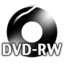 64x64px size png icon of Black DVDRW