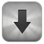 64x64px size png icon of Downloads metal