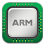 64x64px size png icon of cpu ARM