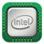 64x64px size png icon of cpu intel