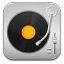 64x64px size png icon of music Record Player