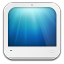 64x64px size png icon of pc white