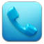 64x64px size png icon of phone ics