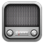 64x64px size png icon of radio metal
