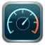 64x64px size png icon of speed test