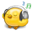 64x64px size png icon of software songbird