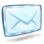64x64px size png icon of system mail