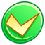 64x64px size png icon of Button ok