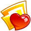 64x64px size png icon of Folder favorits