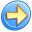 64x64px size png icon of Forward