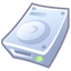 64x64px size png icon of Hard disk