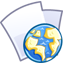 64x64px size png icon of Web file