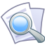 64x64px size png icon of File find