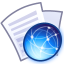 64x64px size png icon of File web