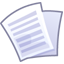 64x64px size png icon of Files text