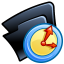 64x64px size png icon of Folder temp