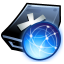 64x64px size png icon of Hd web