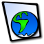 64x64px size png icon of doc globe