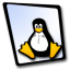 64x64px size png icon of doc linux