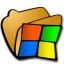 64x64px size png icon of folder windows