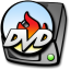 64x64px size png icon of harddrive dvd burner