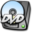 64x64px size png icon of harddrive dvd