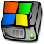 64x64px size png icon of harddrive windows