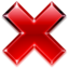 64x64px size png icon of Button Cancel