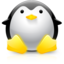 64x64px size png icon of Tux