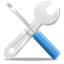 64x64px size png icon of Action configure